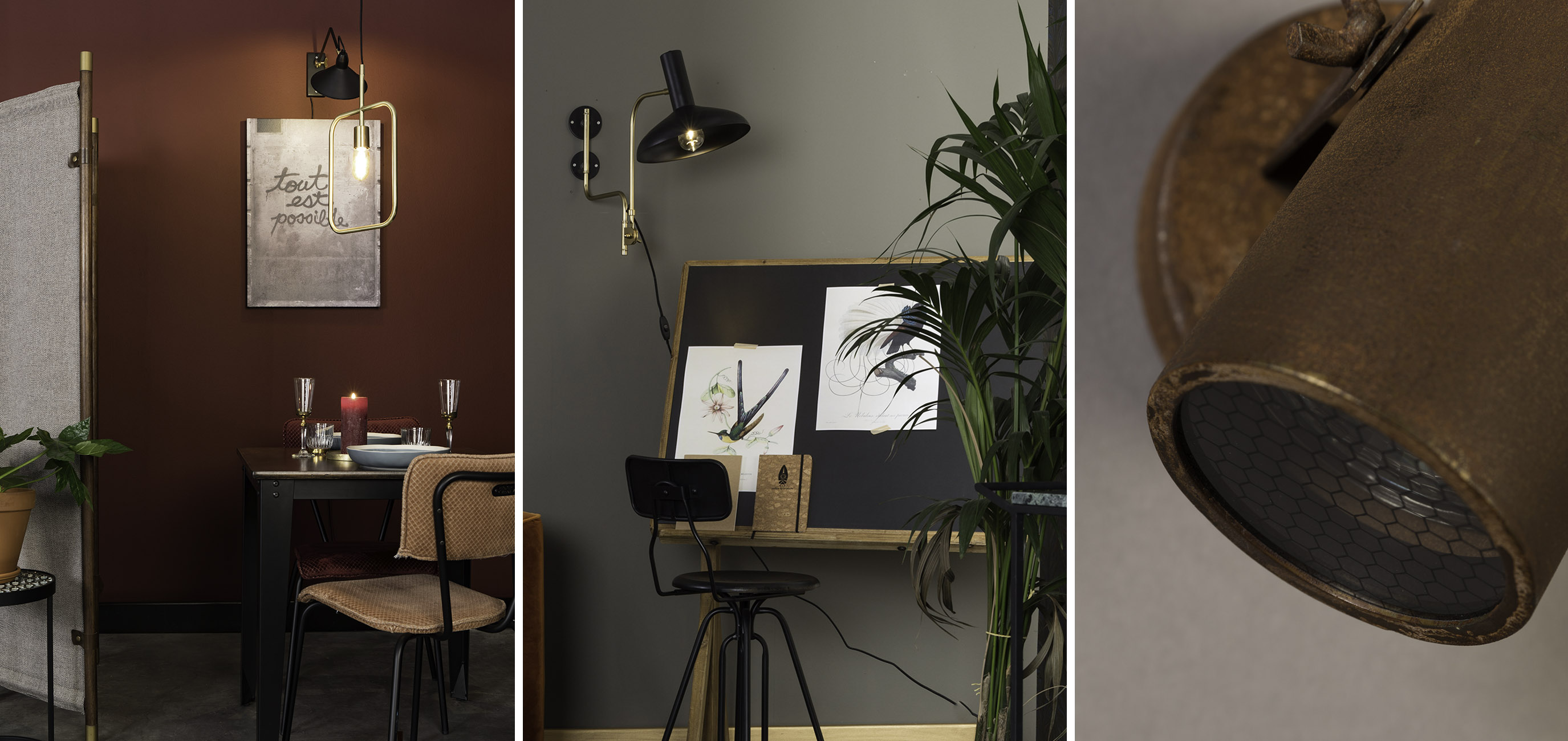 Highlight your favourite items with lighting - Dutchbone